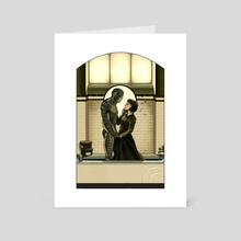 The Shape of Water - Art Card by Melora Mylin