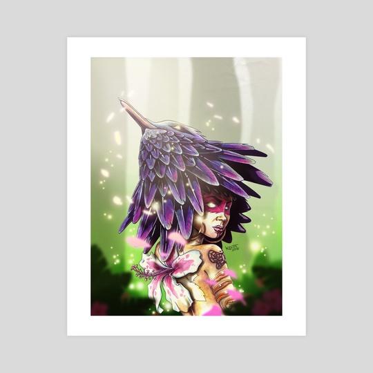 Hummingbird Queen by Kori Thompson