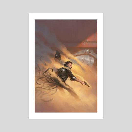 Waxillium Ladrian Mistborn by Dan Watson