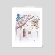 Street view - Art Card by Cécile Congost