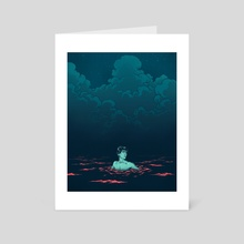 Open Water - Art Card by Cameron Lewis