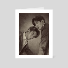 SEVENTEEN's DK & VERNON | Arena Homme+ Magazine Fan Art VER. 2 - Art Card by albertondausjr