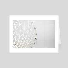 Architectural Detail - Art Card by Alex Tonetti