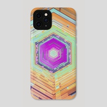 cube phase - Phone Case by drewmadestuff