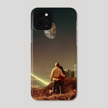 We Used To Live There, Too - Phone Case by Frank  Moth