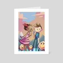 Broken Age - Art Card by Jon Nielsen