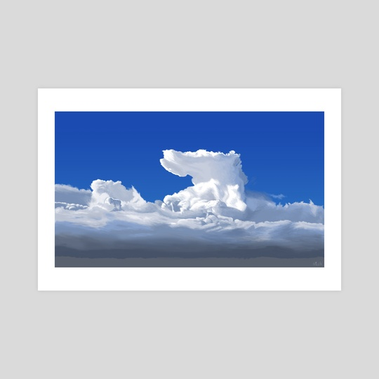 Cloudscape by Helen McLaughlin