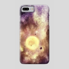 Sunrise In The Clouds - Phone Case by overseer