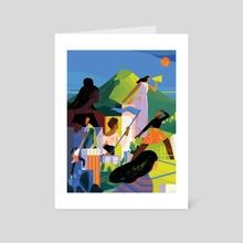 Lead the Way - Art Card by Sara Wong
