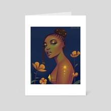 Tint - Art Card by Uzoma Nduka