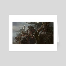 Samurai Orcs - Art Card by Jason  Kang