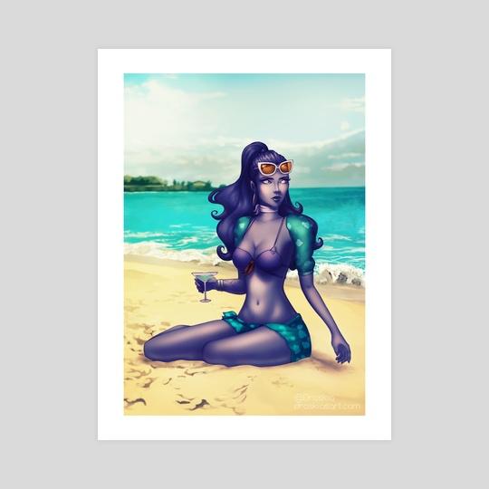 Widowmaker Summertime by Draskia (Maggie)