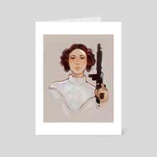 Leia 2 - Art Card by Chantal