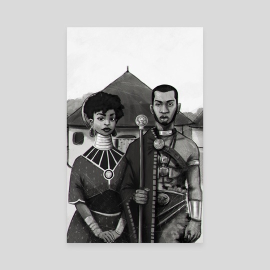 African Royalty by JeffRey  Onyango
