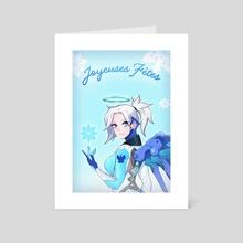 Snow angel - Art Card by Kalycoris