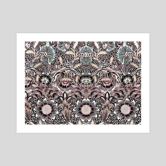 Vintage pattern 63 by Michal Eyal