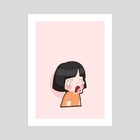 Mee - Cry - Art Print by Y Phien Tra