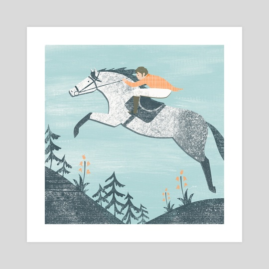 Spring Riding by Angela Keoghan