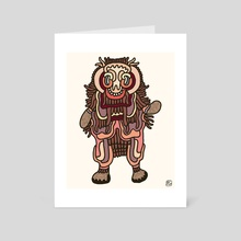 Olmeca Monster of the day (June 3) [Year 1] - Art Card by Royal Glamsters