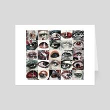 Eyes - Art Card by Ellie Harper