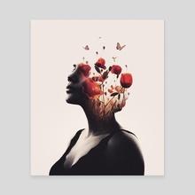 Burning Desire - Canvas by Enkel Dika