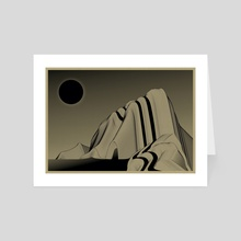 well, that didn't work - Art Card by Enrico Ruggeri