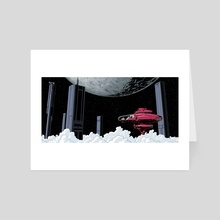Night Owl - Art Card by oliver bown