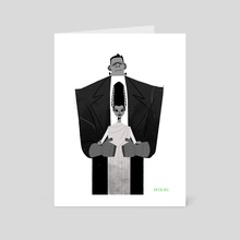 The Frankensteins - Art Card by Kirsten Shiel