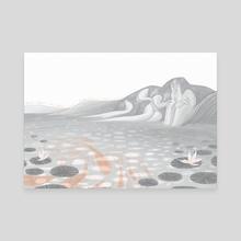 Aros - Canvas by Lleucu Gwenllian