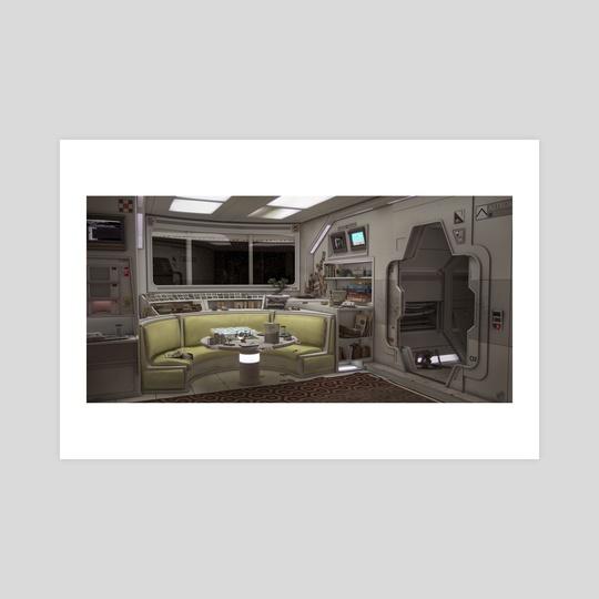 Retro space common by Devon Fay