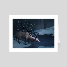Guardian - Art Card by Laura Correal