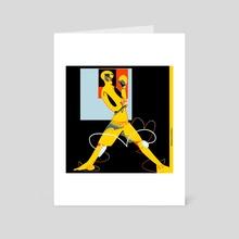 Put 'em Up - Art Card by Christian Alexander