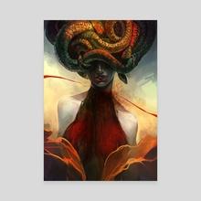 Medusa - Canvas by Keri Ruediger