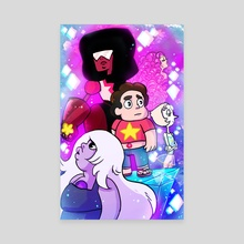 Steven Universe - Canvas by Annie Stoll