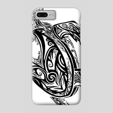 Tribal Turtle - Phone Case by Katrina Wold