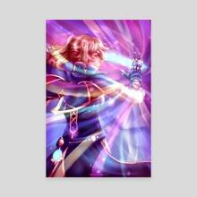 Rainbow Light | Jean Genshin Impact Fanart - Canvas by Haven Hope Art