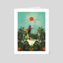 Wonderland - Art Card by Fran Rodriguez