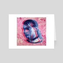 Madeleine - Art Card by hazel thexton