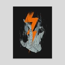 Fall Effect - Canvas by digital carbine