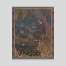 Dishonored Bilibin Style - Canvas by ukropstales