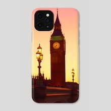 London - early morning - Phone Case by Michael Walsh