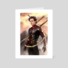 Iron Spider - Art Card by Andi Robinson