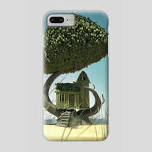 The plankhouse - Phone Case by Peter Nagy