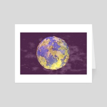 Earth - Art Card by Timothy J. Reynolds