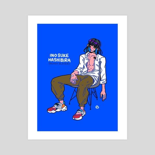 Inosuke Hashibira by Paulo Doi