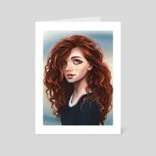 Merida - Art Card by Daria Dzyuba
