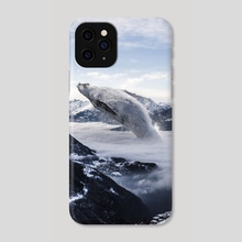 Fog Whale - Phone Case by Justin Peters