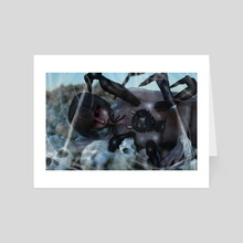 Tomb of the Spider Queen - Art Card by Jennifer from Writing Redesigned