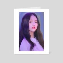 sonatine - heejin - Art Card by umi ---