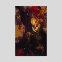 Sylvan - Canvas by Galen Valle